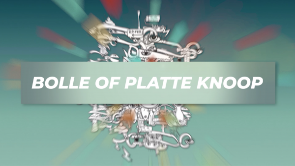 bolle of platte knoop