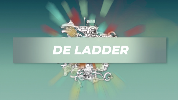 De ladder - veter strikken